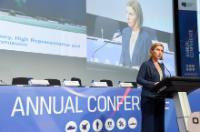 Participation de Federica Mogherini, vice-présidente de la CE, à la conférence annuelle 2016 de l'AED