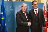 Visit of Jean-Claude Juncker, President of the EC, to Bolzano