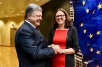 Participation de Cecilia Malmström à la table ronde des affaires UE-Ukraine