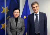 Visite de Giovanni Buttarelli, contrôleur européen de la protection des données (CEPD), à la CE