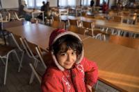 Le Centre d'accueil pour réfugiés de Krnjača, en Serbie