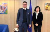 Visit of Ondřej Benešík, Member of the Czech Chamber of Deputies and Chairman of the Committee on European Affairs, to the EC