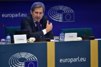 Press conference by Johannes Hahn, Member of the EC, at