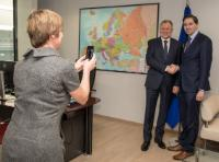 Visit of Simon Harris, Irish Minister for Health, to the EC