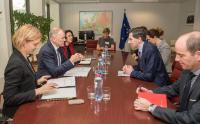 Visit of Simon Harris, Irish Minister for Health, to the EC