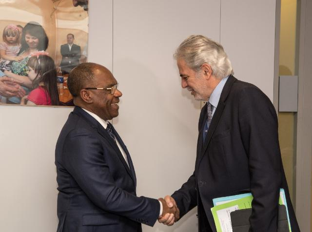 Visit of Leonard She Okitundu, Vice-Prime Minister of the Democratic Republic of the Congo and Minister for Foreign Affairs and Regional Integration, to the EC