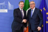 Visit of Enda Kenny, Irish Prime Minister, to the EC