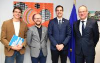 Visit of the Presidency of the European Youth Forum to the EC