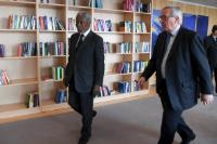 Visit of Kofi Annan, former Secretary General of the United Nations, to the EC