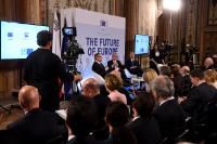 Citizens' Dialogue in Valletta with Jean-Claude Juncker, President of the EC, Karmenu Vella, Member of the EC and Joseph Muscat, Prime Minister of Malta