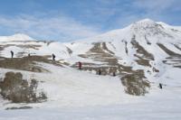 Erasmus students in Svalbard, Norway