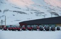 Erasmus students in Svalbard, Norway