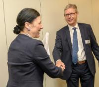 Visit of Pavel Zeman, Supreme Public Prosecutor of the Czech Republic, and Jean-François Thony, Prosecutor General of the Court of Appeal of Colmar, to the EC
