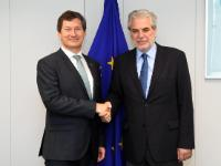 Visit of Neil Buhne, UN Resident Coordinator and UNDP Resident Representative in Pakistan, to the EC
