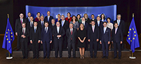 Group photo of the Members of the Juncker Commission, from 07 Juy 2017