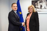 Visit of Mircea-Titus Dobre, Romanian Minister for Tourism, to the EC