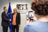 Visit of Mircea-Titus Dobre, Romanian Minister for Tourism, to the EC
