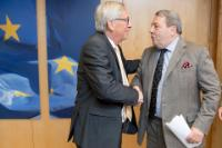 Visit of David Coburn, Member of the EP, to the EC.