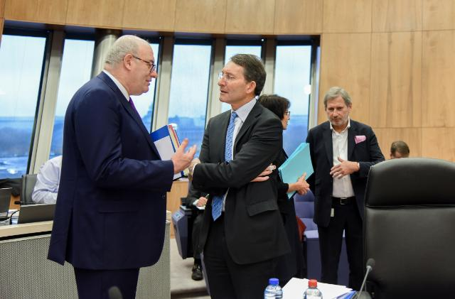 Weekly meeting of the Juncker Commission