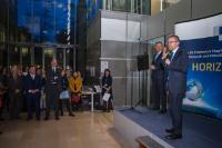 Remise des médailles de 20 ans de fonction publique européenne à la DG RTD