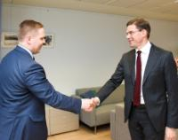 Visit of Henrik Vuornos, Chairman of the Youth of the National Coalition Party of Finland, to the EC