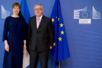Visit of Kersti Kaljulaid, President of Estonia, to the EC