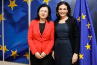 Visit of Sheryl Sandberg, Chief Operating Officer of Facebook, to the EC