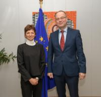 Visit of Maja Makovec Brenčič, Slovenian Minister for Education, Science and Sport, to the EC