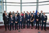 Visit of Rectors from Polish Universities, to the EC