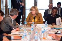 Corina Creţu, Member of the EC, meets the Commission