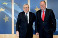 Visit of Peer Steinbrück, former German Federal Minister for Finance, and former Member of the German Bundestag, to the EC