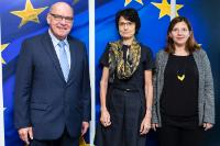 Visit of Daniel Termont, Mayor of Ghent and President of Eurocities, to the EC
