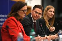 Joint press conference by Jyrki Katainen, Vice-President of the EC, and Cecilia Malmström, Member of the EC