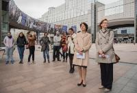 Participation of Marianne Thyssen, Member of the EC, at the EMIN Bus Journey Launch Ceremony in Brussels