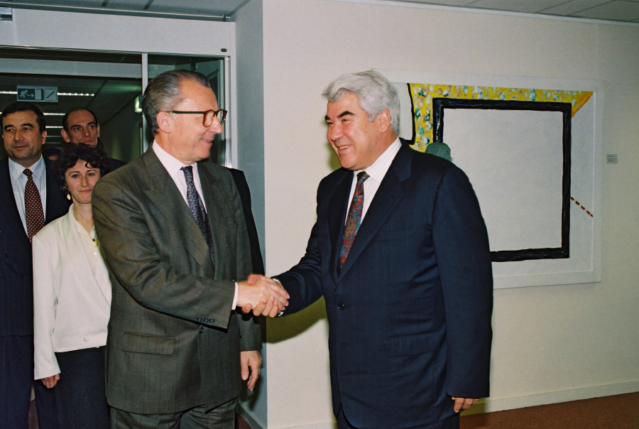 Visit by Saparmurad Niyazov, President of Turkmenistan, to the CEC