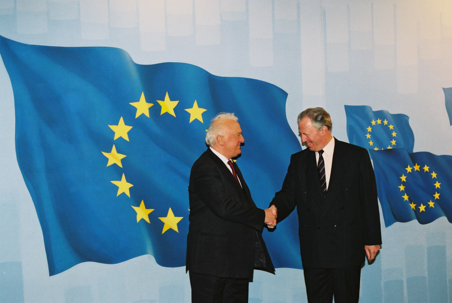 Visit of Eduard Shevardnadze, President of Georgia, to the EC