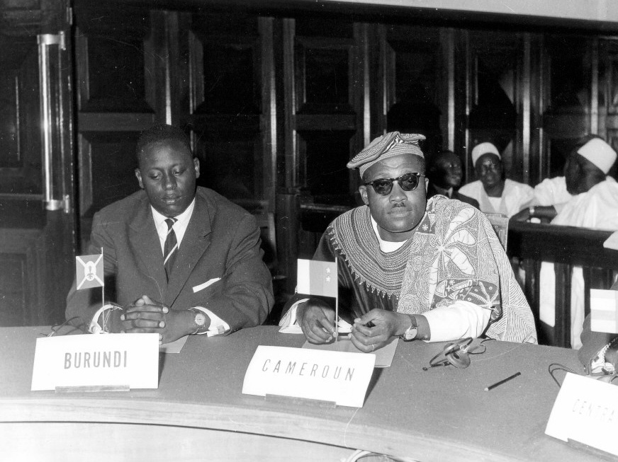 Signing of the Yaoundé I Convention