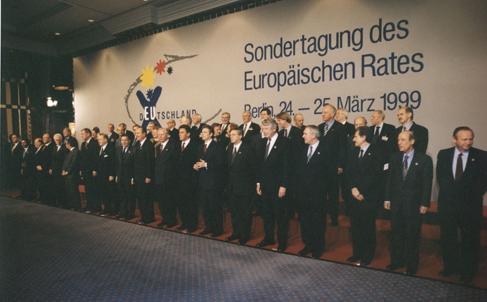 Berlin Extraordinary European Council, 24-25/03/1999