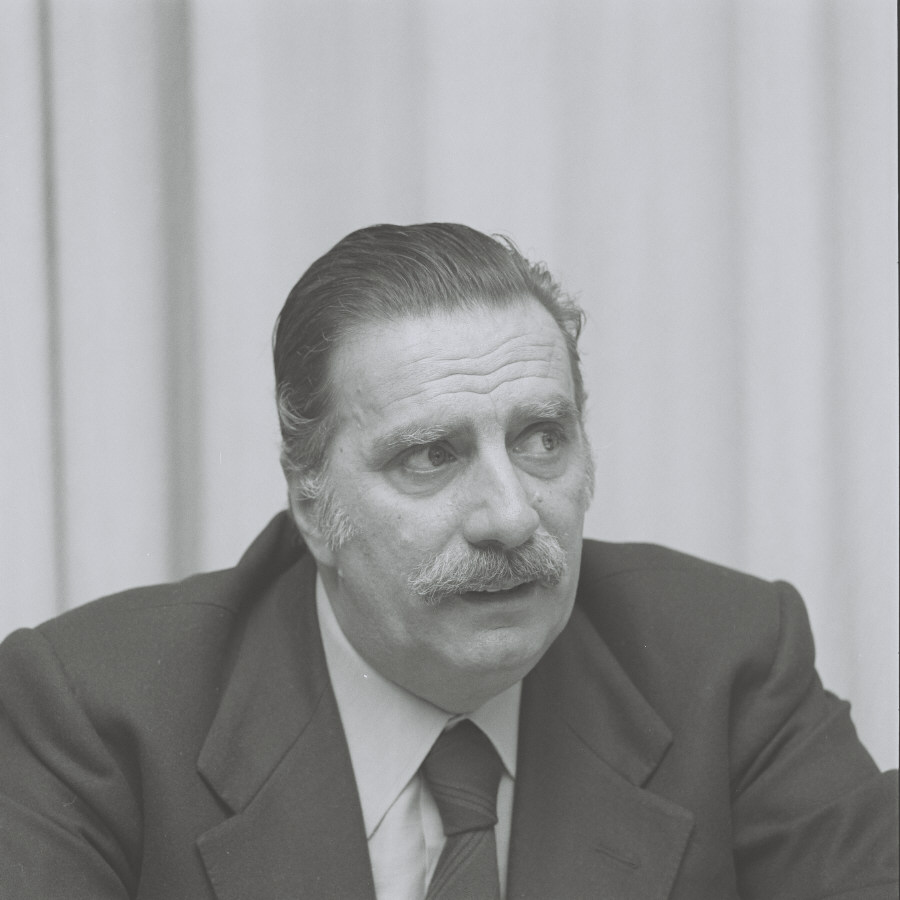Lorenzo Natali, Vice-President of the CEC