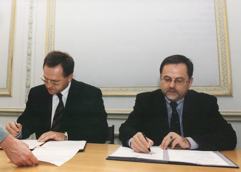 Signing of a cooperation agreement between OLAF and Russia on mutual information systems