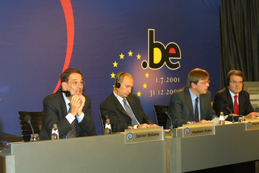 EU/Russia Summit, 03/10/2001