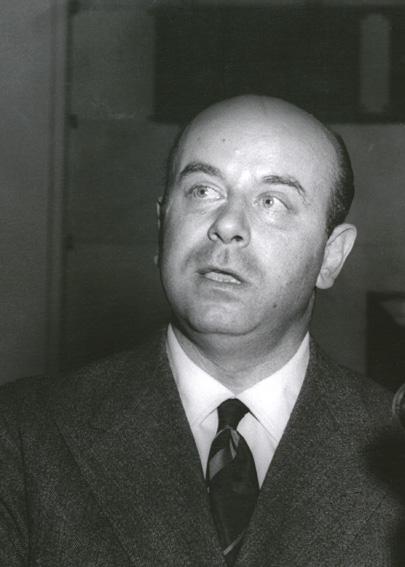 Giuseppe Petrilli, membre de la Commission de la CEE
