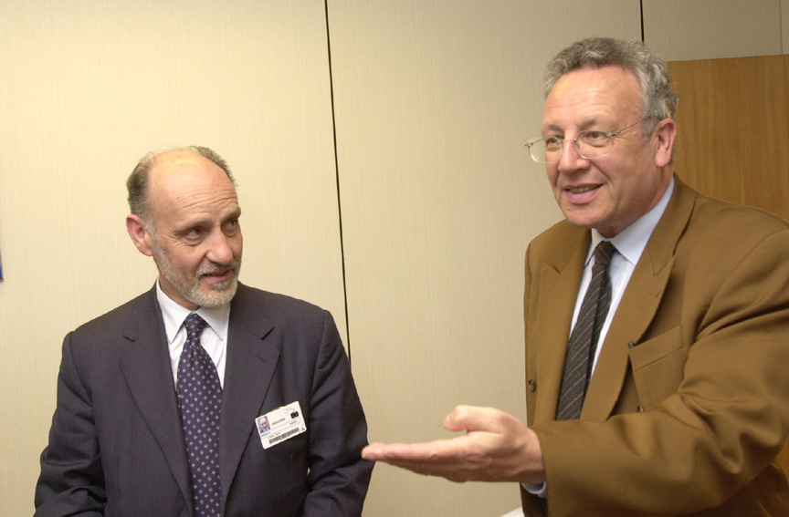 Visit of Antonio Rodotà, Director-General of the ESA, to the EC
