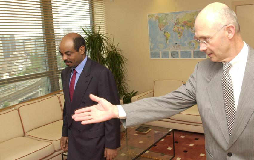 Visit of Meles Zenawi, Ethiopian Prime Minister, to the EC