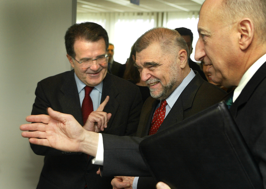 Visit of Stjepan Mesić, President of Croatia, to the EC