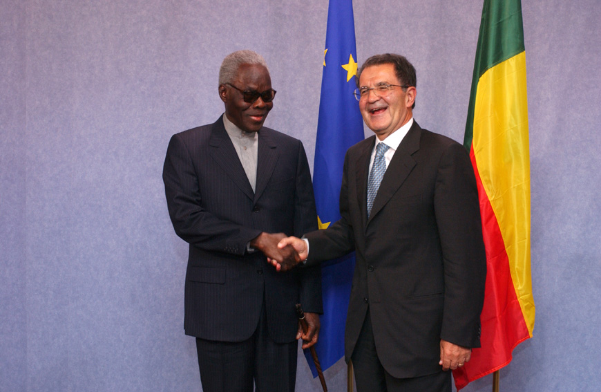 Visit of Mathieu Kérékou, President of Benin, to the EC