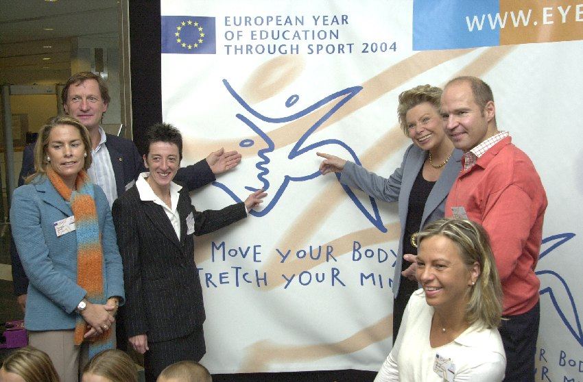 Launch of the European Year for Education through Sport
