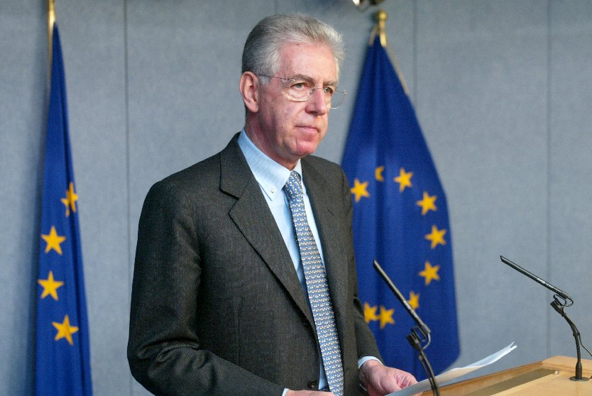 Meeting of the EC and press conference by Mario Monti on the Microsoft decision