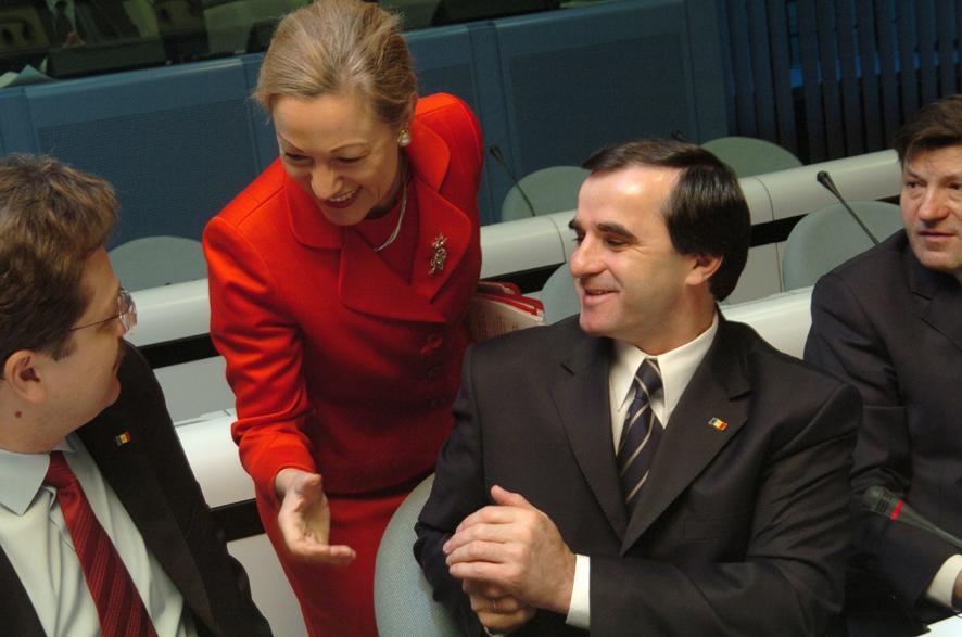 Visit of Vasile Tarlev, Moldovan Prime Minister, to the EC