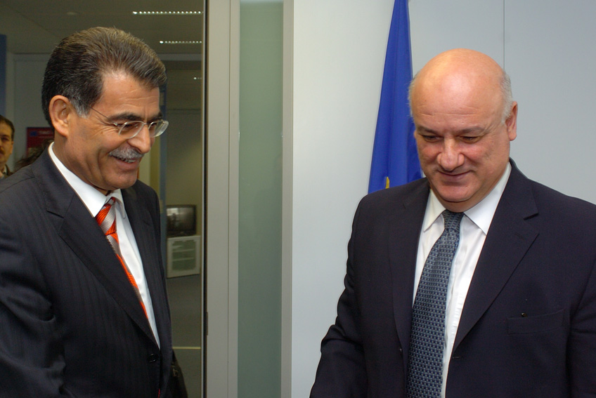 Visit of Sami Guclu, Turkish Minister of Agriculture and Rural Affairs, to the EC